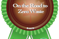 Zero Waste Canada - On the Road to Zero Waste Certification Bronze Badge