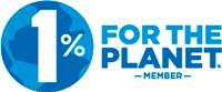 1% for the Planet Membership Logo
