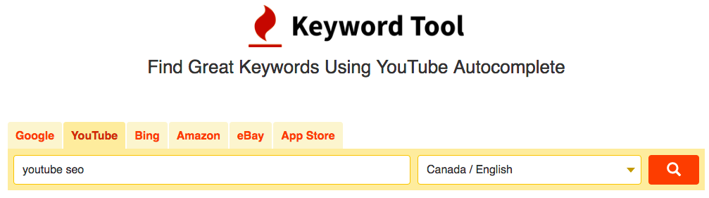 Keyword Research Tool - Keyword IO
